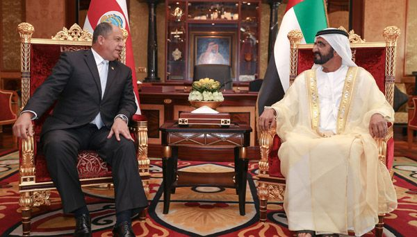 Montenegro President welcomed in the UAE by its Vice-President