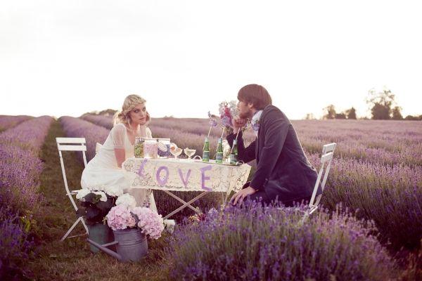 Mayfield Lavender Bridal Inspiration