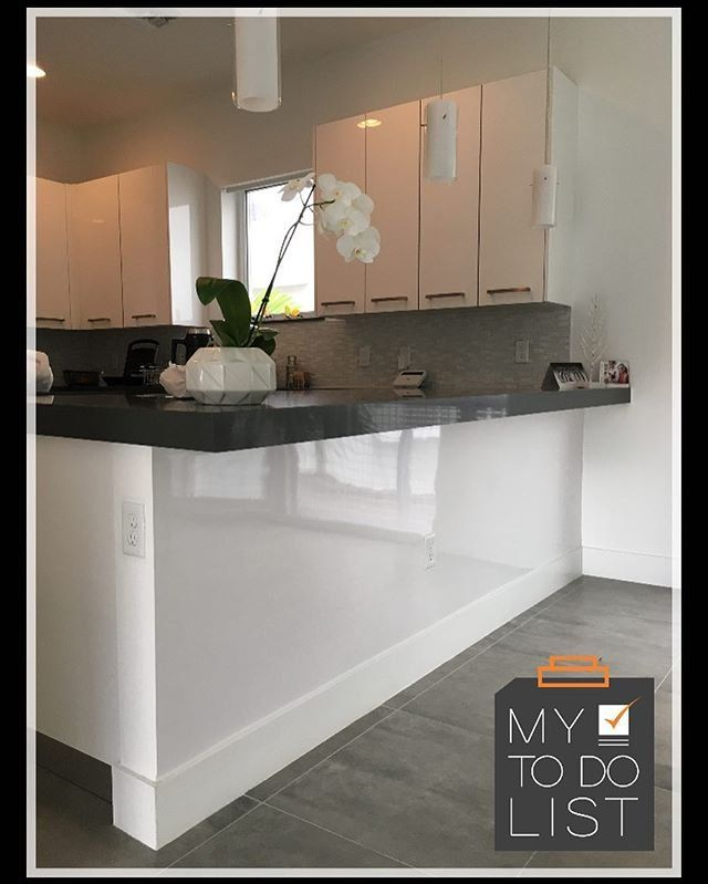 High Gloss White Formica Laminate Makes A Statement In This