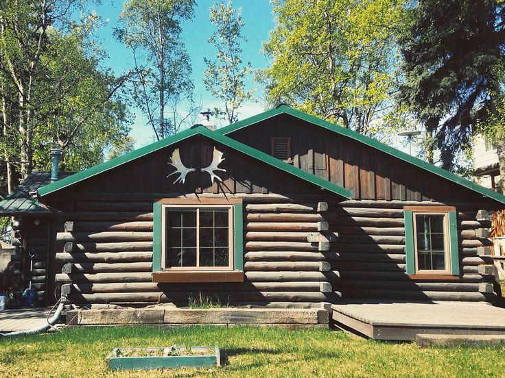 15 best log cabin with additions images on pinterest log for Log home addition
