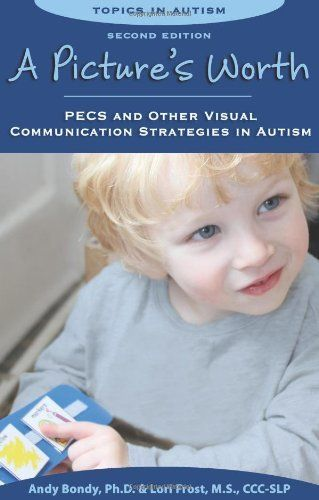 A Picture's Worth: PECS and Other Visual Communication Strategies in Autism de Andy Bondy, http://www.amazon.fr/dp/1606130153/ref=cm_sw_r_pi_dp_uRHdtb02Y9G77
