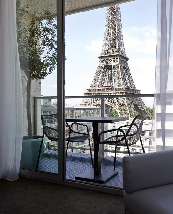 Room with a view - Hotel Pullman Paris Tour Eiffel...oh, To wake up to this...