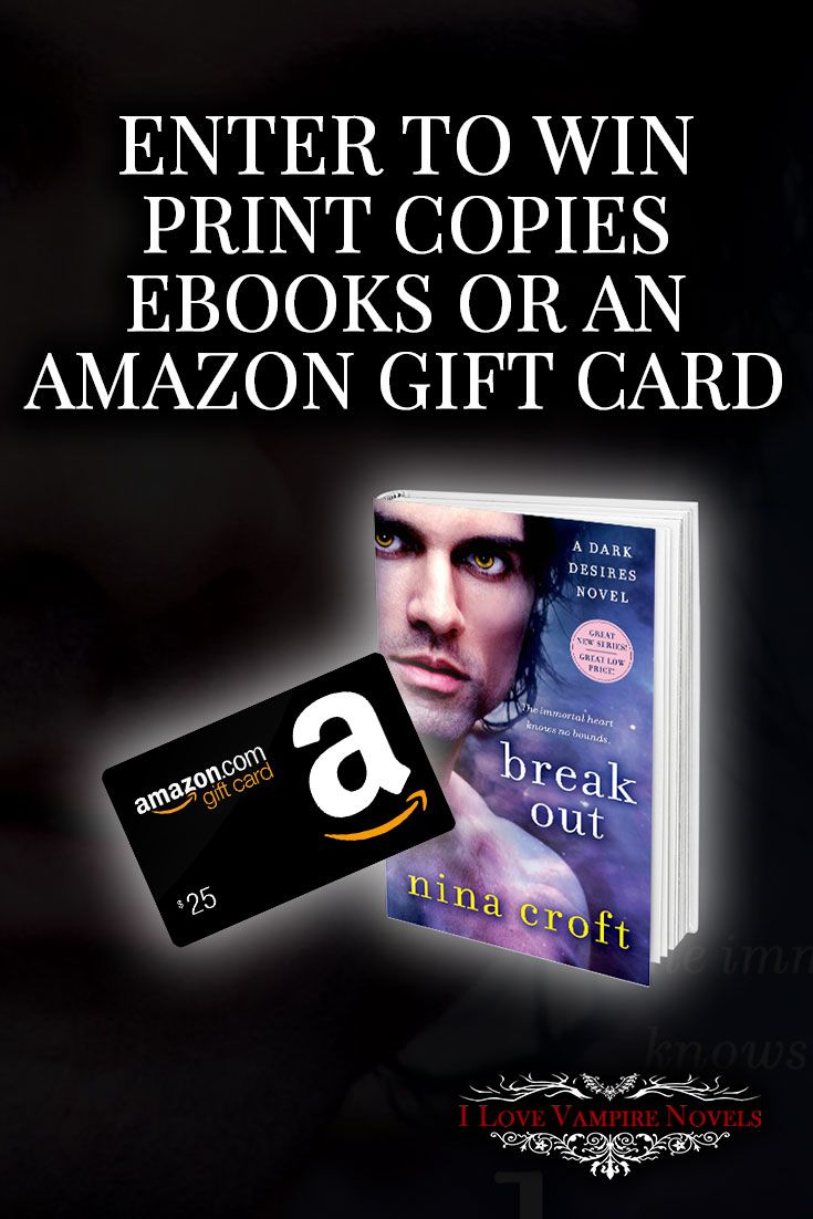 #win A $25 Amazon Gift Card, Ebooks Or Paperbacks From Author Nina