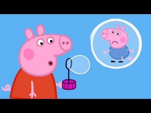 Peppa Pig Bubbles Episodes New Compilation 2016 - YouTube