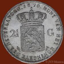 2½ Gulden 1870 - Hele mooie kwaliteit