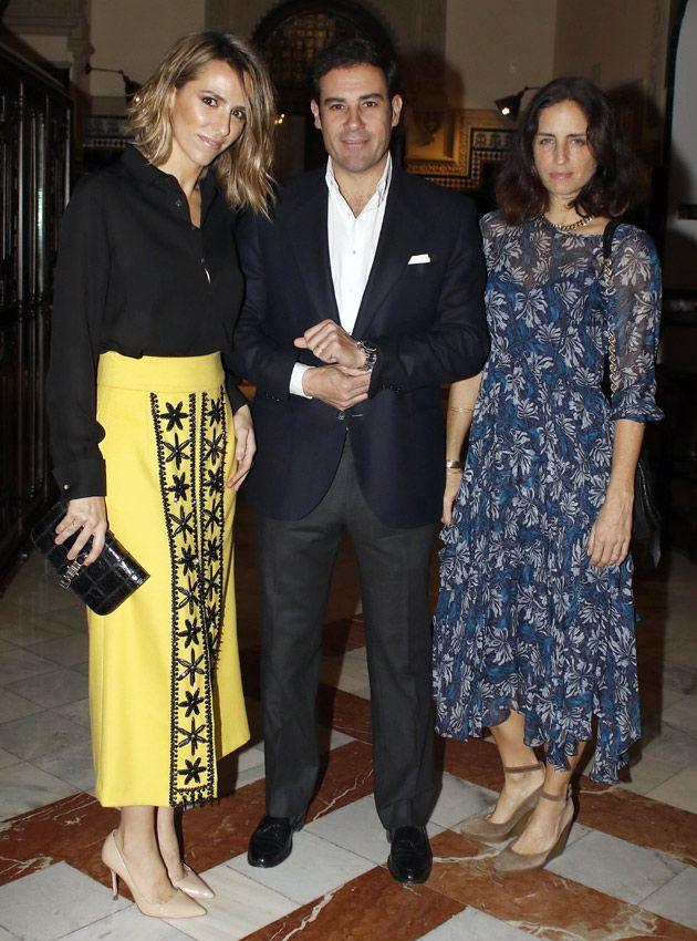 Laura Vecino, Carolina Herrera, Lourdes Montes, Gloria Ortega... reunidas en la gran cita con la moda flamenca - Foto 1