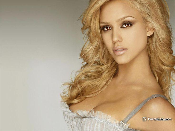 Blonde Jessica Alba