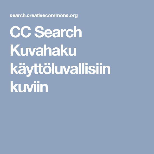 CC Search  Kuvahaku käyttöluvallisiin kuviin