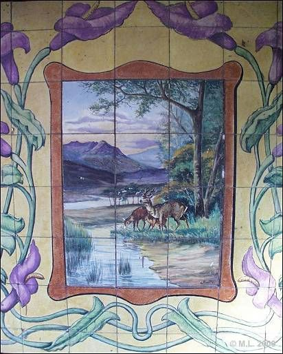 561 melhores imagens sobre azulejos de portugal no for Nova casa azulejos