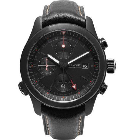 Kingsman Bremont ALT1-B Automatic Chronograph Watch   MR PORTER
