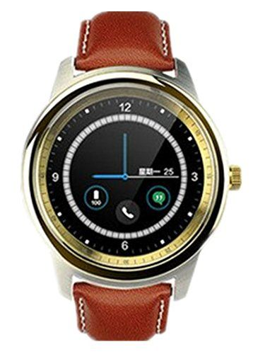 DM365 full circle rate Bluetooth intelligent Smart Watches dress watches , gold. Men's and women's fine watches. Perfect and the quality of the design. Delivery time approx. 10-18 days. You have questions, please contact us. I wish you a happy shopping.