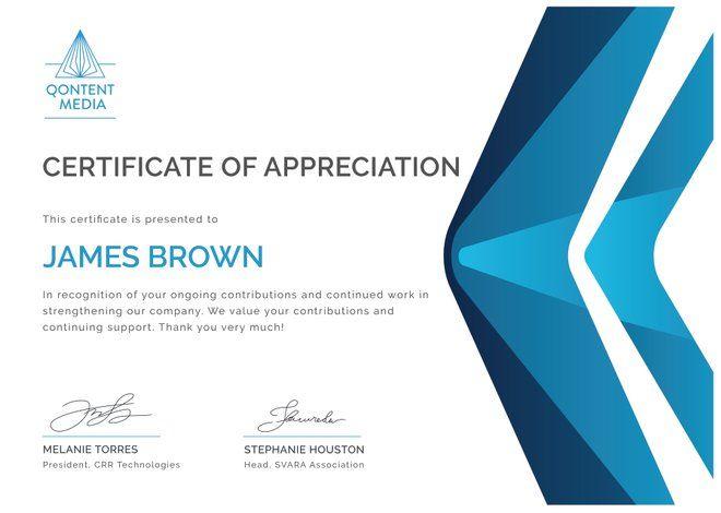 Free Printable Employee Appreciation Certificate Certificate