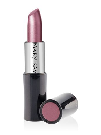 Get elegant lips with Creme Lipstick in Frosted Rose. This color goes easily with any outfit and is the perfect compliment to a confident smile. | Mary Kay