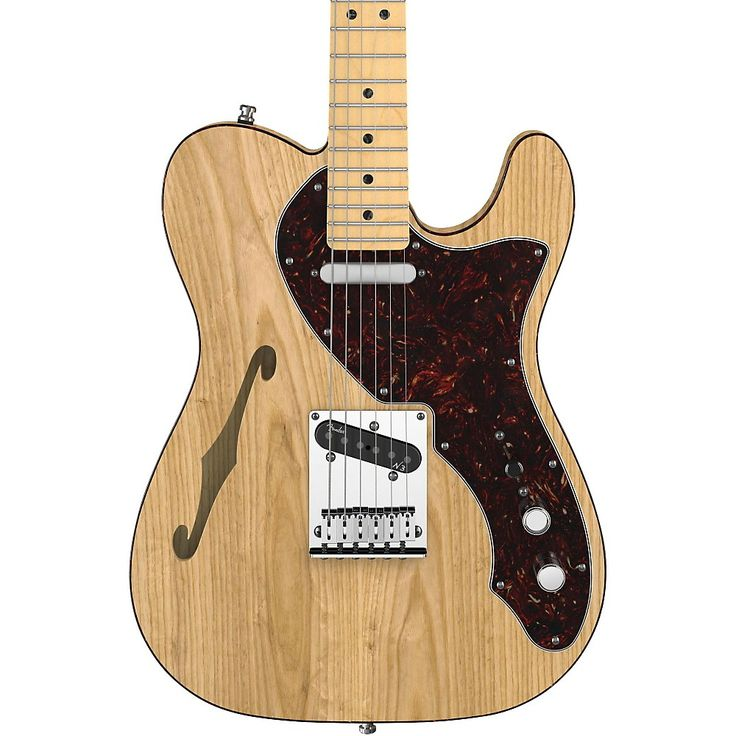 Fender American Deluxe Telecaster Thinline Natural
