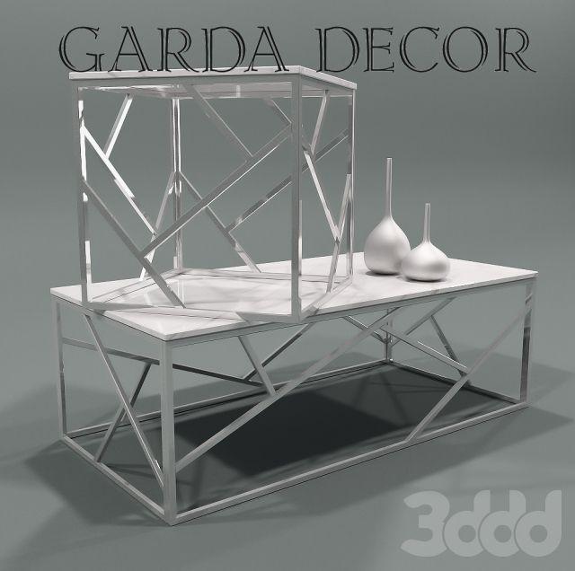 Столы журнальные мраморные Garda Decor