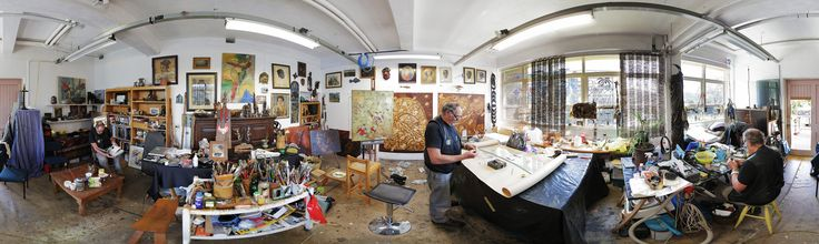 Robert Franken''s Studio: Artist in Residence