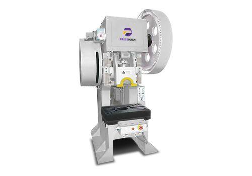 C-Frame Single Cross Crank Single Point Press EPMC-25F  Source:http://www.pressmach.eu/en/product-details/1/242/Mechanical%20Presses/Single%20Crank/C-Frame%20Single%20Cross%20Crank%20-%20Single%20Point%20Press/fixed%20stroke/25 #steel #weld #frame #highrigidity #deformation #less #stronger #cast #strong #iron #base #noise #improvement #work #environment #pneumatic #friction #clutch #brake #lownoise #longservicefile #torque #brakingangle #pressmach #press