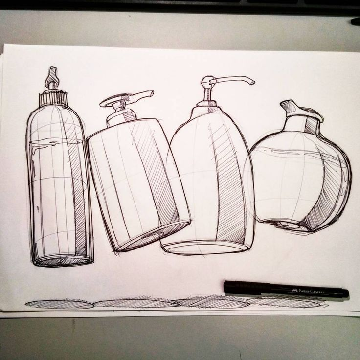 Soap dispensers sketch #sketch #sketches #idsketching #designsketching #industrialdesign #design