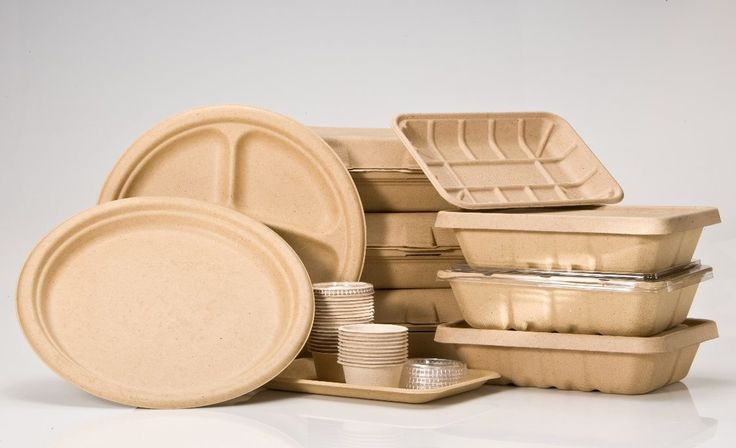 The packaging of the future is here! Biodegradable food packaging is a sustainable alternative to plastic, paper, and Styrofoam, and it does not pollute the planet. Hopefully this will be the packaging of choice for most stores in the future!