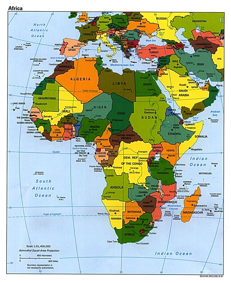 Map of #Africa. When you look at this #map, what do you see? what comes to your mind?