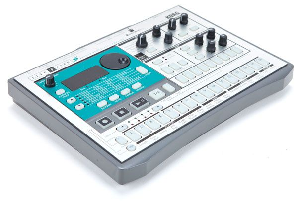 Korg Electribe ES-1. Grabbed one of these used mainly to use as a midi controller, but I quickly fell in love with the esoteric sampling and effects abilities of this guy.