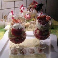 Dronken aardbei met vanilleijs recept - IJs - Eten Gerechten - Recepten Vandaag