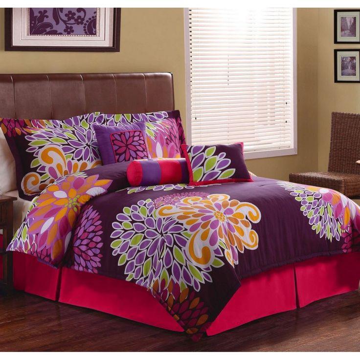 Flower Show Queen Comforter Set