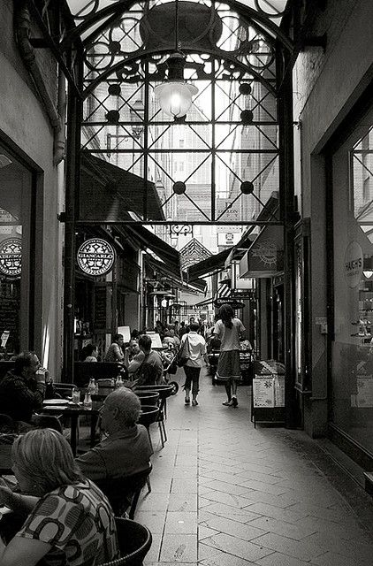 Block Place - Melbourne, Australia~one of Melbourne's many laneways