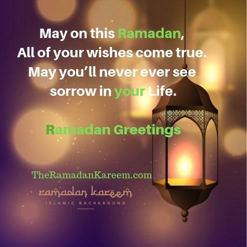 Best Ramadan Greetings Words (English Urdu Arabic) 2019