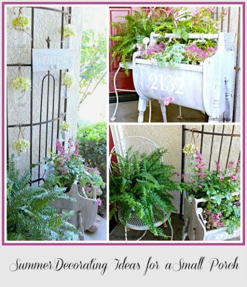 52 Vivacious Summer Porch Decor Ideas: 21 Best Images About Small Porch Decorating Ideas On