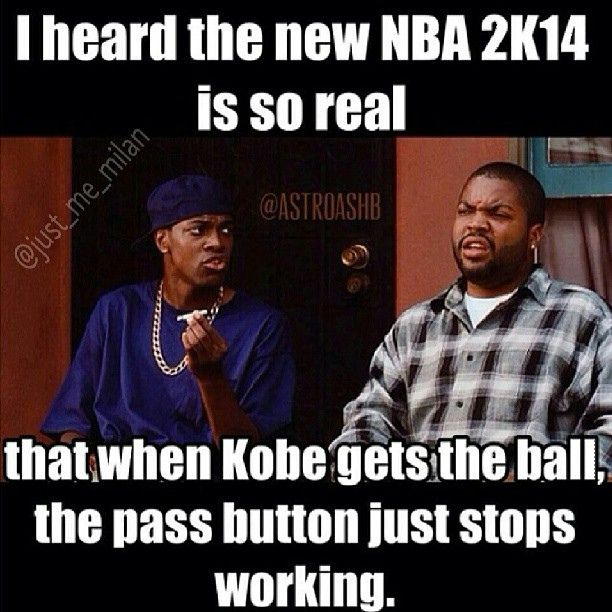 Truth! Tons of kids played NBA2K14 at our birthday parties this weekend!
