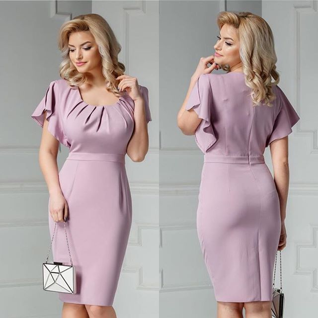Rochie Kasia lila midi cu pliuri la bust Pret: 149.00 Lei #dress #fashion #style #love #instagood #girl #beauty #beautiful #model #hair #shoes #cute #shopping #outfit #pretty #photooftheday #stylish #girls #ootd #me #styles #pink #heels #rochiiieftine