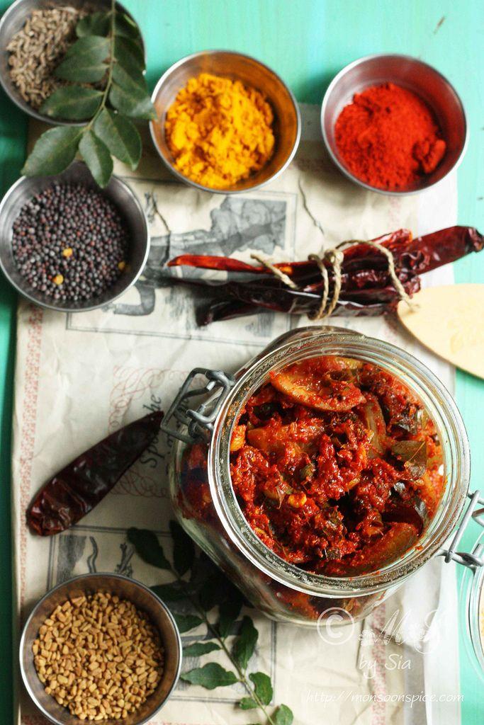 Monsoon Spice | Unveil the Magic of Spices...: Nimbu Ka Achaar | Simple Spicy Indian Lemon Pickle...