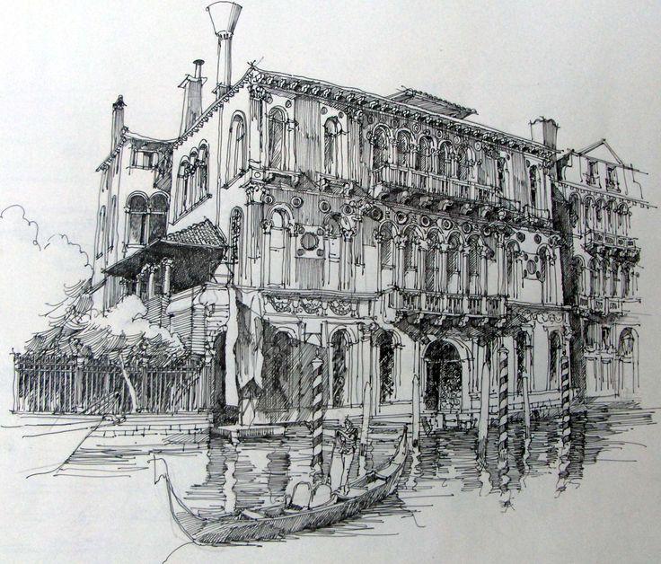 am Canale Grande, Venedig