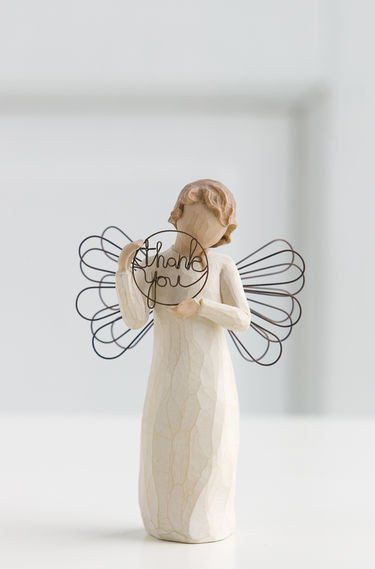Just for You - Willow Tree Figurine - The Shabby Shed  Sentiment: With sincere thanks