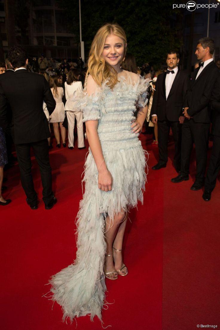 Chloë Grace Moretz au Festival de Cannes, le 23 mai 2014.