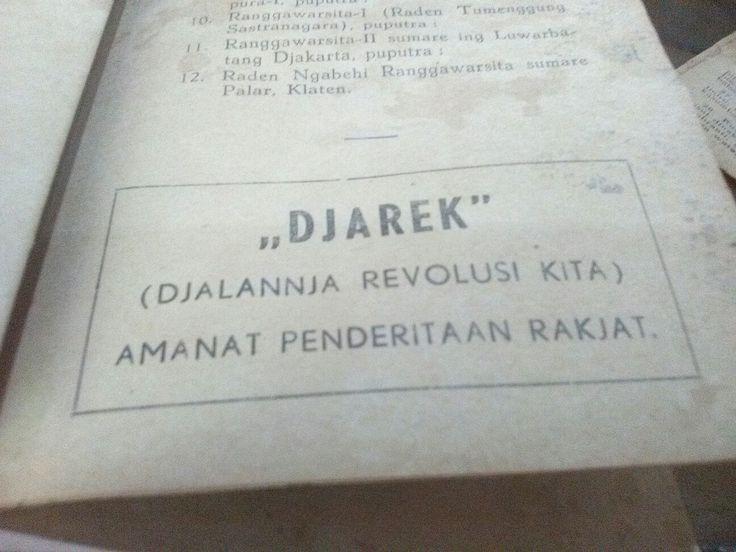 Djarek#jgn melupakan sejarah