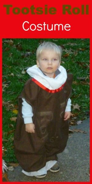 How to Make a Tootsie Roll Costume