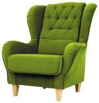 KAYA* fotel Fotelek, lábtartók, ülőkék zöld