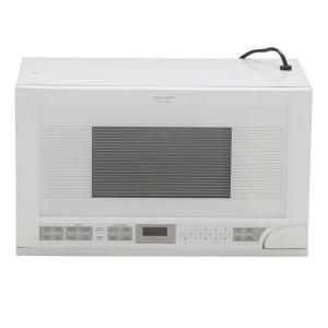 Sharp 1.5 cu. ft. Over the Counter Microwave in White with Sensor Cooking R1211TY at The Home Depot - Mobile