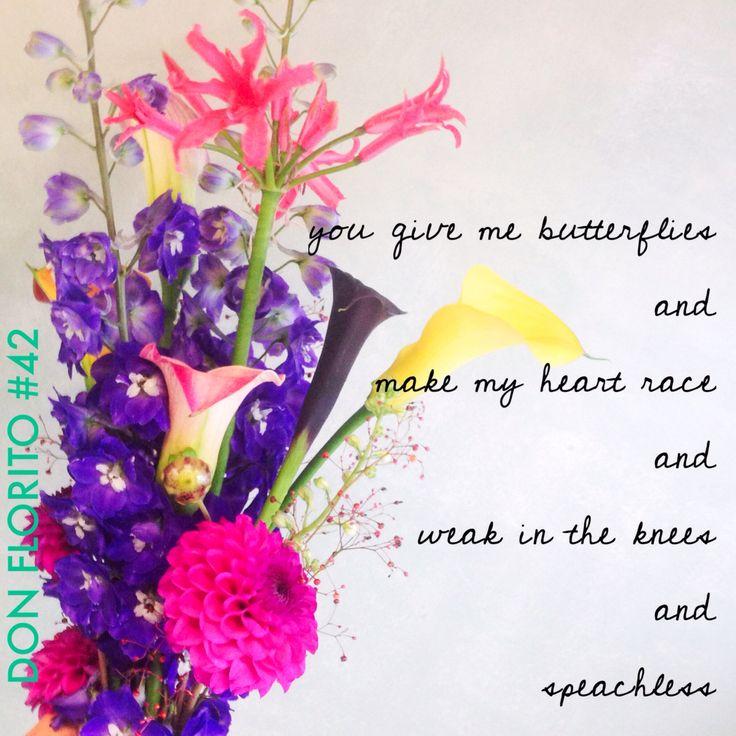 DON FLORITO's weekly  L O V E S H O T #42 #love #flowers #smile
