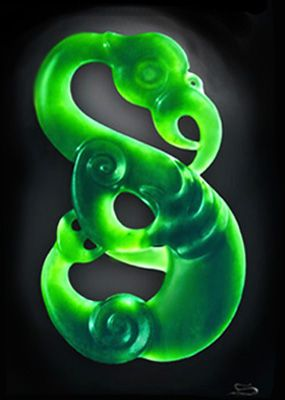 Manaia - Pounamu (Greenstone) pendant