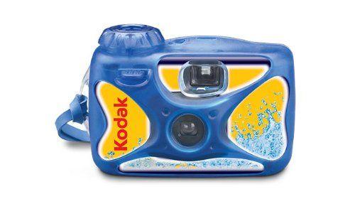 Kodak Sport Disposible Camera, 27 Exposure, Waterproof up to 50 feet