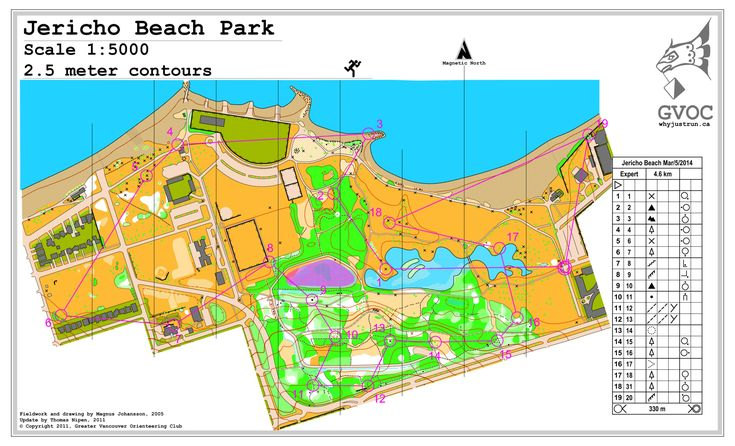 March 5th 2014 6:30pm - 8:00pm - Jericho Beach - Expert course