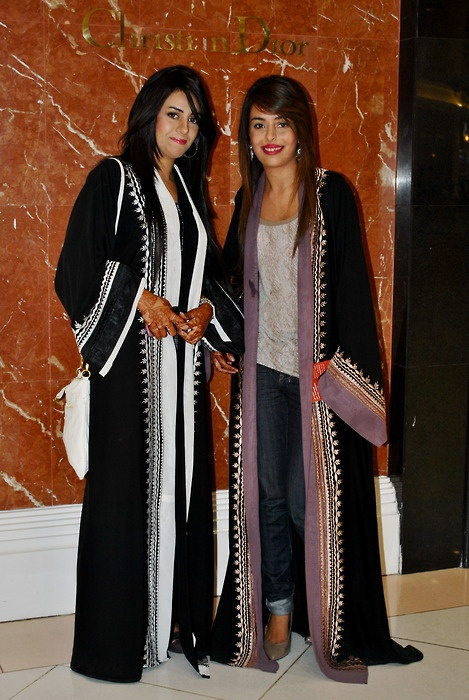 I really the abaya on the right.