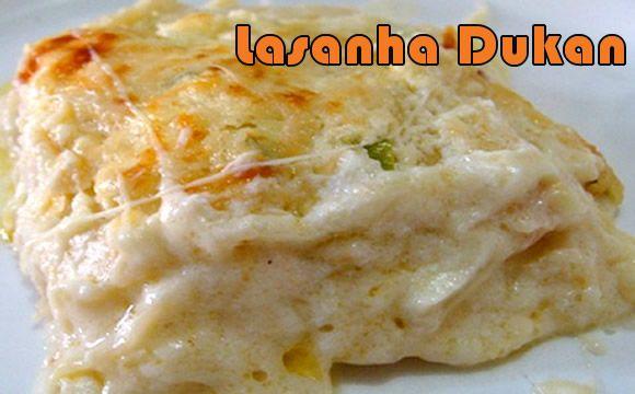 Lasanha Bolonhesa - Dieta Dukan #dietadukan #receitasdukan #lasanha