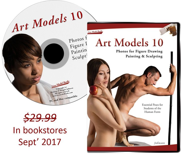 "Love to draw but find it hard to get to life drawing sessions? ""Art Models comes as close to being in a live studio as you can achieve."" - Samantha Youssef, Studio Technique. Enter free to win the Art Models 10 disk."