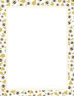Frontera de la abeja