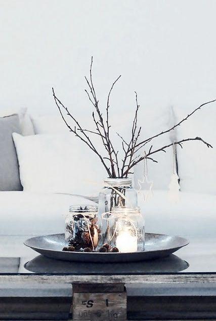 Höj mysfaktorn hemma inför december och advent genom att ta in julen på ett enkelt och snyggt sätt.