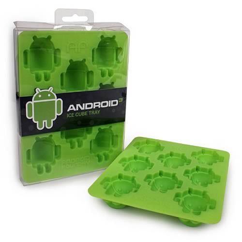 Google Android Ice Cube Tray. That's kind of adorable.